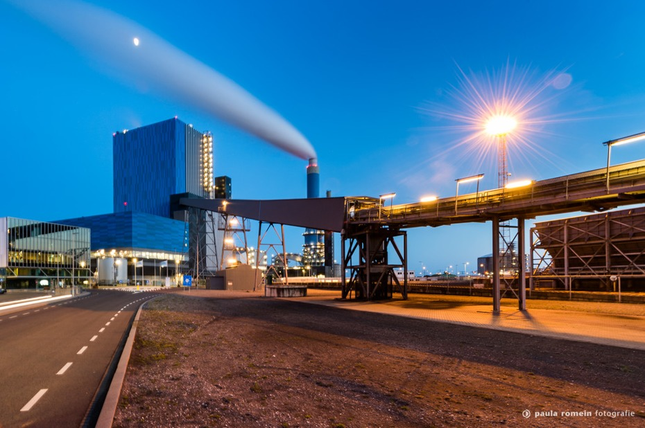 Industrie in de Rotterdamse Haven